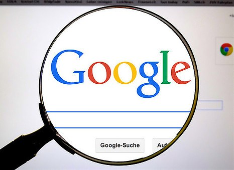 searching google with a lupe