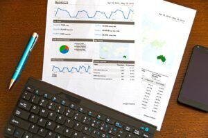 Building an online business using a keyword search tool