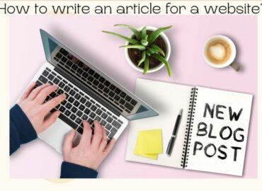 postcard, how to write an article for a website?