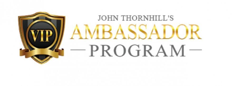 banner John Thornhill's Ambassador