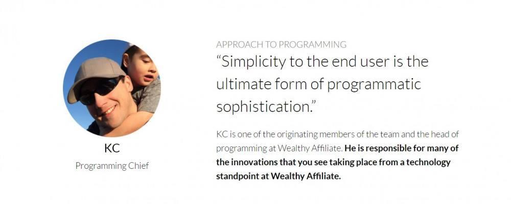 KC,Wealthy Affiliate