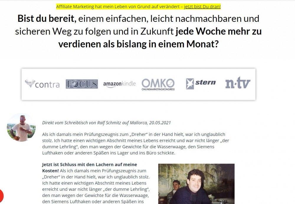 Partner Business, Ralf Schmitz