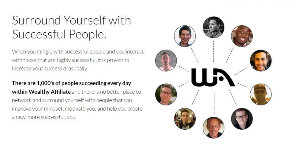 Successful people at WA