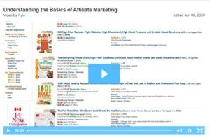 video Kyle about affiliate marketing