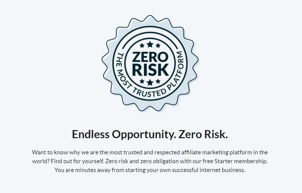 Zero Risk, Wealthy Affiliate